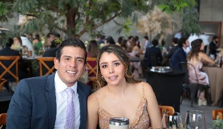 Héctor Rueda y Ana María Hernández.
