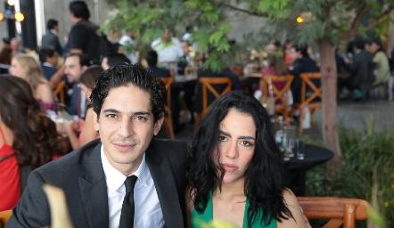 Gerardo Rodíguez y María Luisa Fernández.