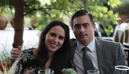 Luciana Rodríguez y Jaime Oliva.