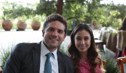 Federico Díaz Infante y Teresa Mancilla.