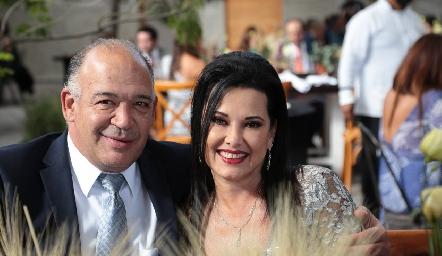 Raúl Piñeiro y Ana Reyes.