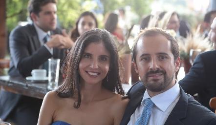 Alejandra Torre y Guillermo Romo.
