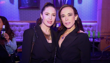 Mónica Barraza y Cheli Sotomayor.