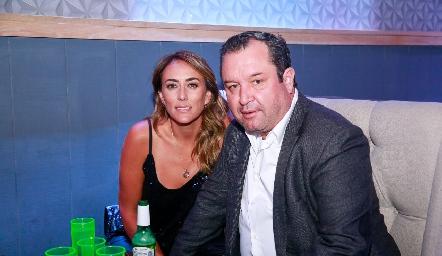 Sandra Salgado y Humberto Abaroa.