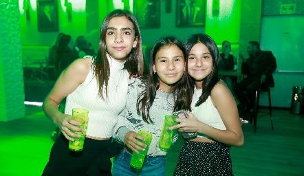 María, Emma y Sofía.