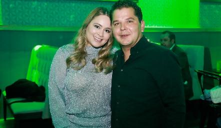 Melissa Pérez y Juan Pablo Wagner.