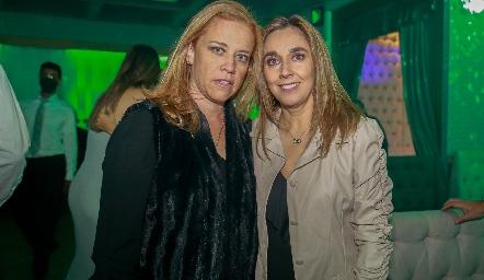 Mariana Torres y Nuria Ejarque.