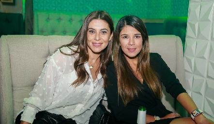 Karina Hernández y Marifer Leal.