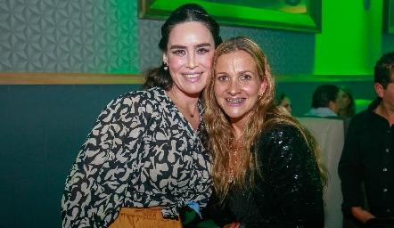 Alba Villalpando y Aurora Irigoyen.