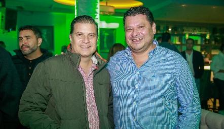 Javier Vallejo y Luis Fernando Torrescano.