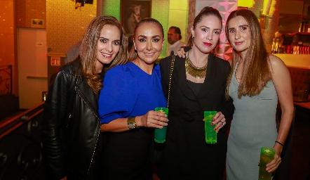 Gloria Medina, Flor Hernández, Mónica Barraza y Lourdes Orozco.