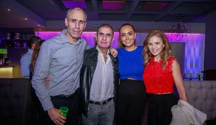 Marcelo Abaroa, Eduardo Zendejas, Flor Hernández y Sigrid Werge.