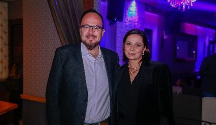 Daniel y Verónica Anaya.