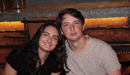 Lorenza Gárate y Manuel Toledo.