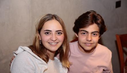 Lorenza Hinojosa y Manuel Díaz Infante.