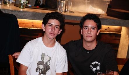 Diego Payán y Roberto Silva.