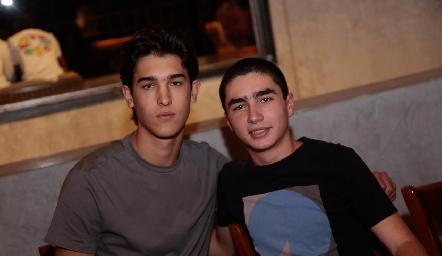 Esteban Artolózaga y Pablo Córdova.