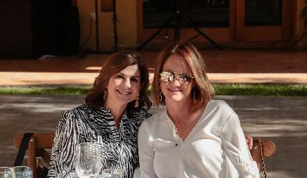 Lucía Escobedo y Rocío Gómez.