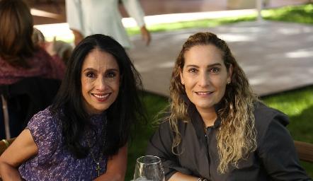 Rosy Hernández y Maribel De Antuñano.