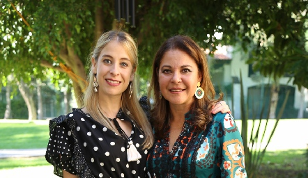 Marigel Villasana y Marigel Sánchez.