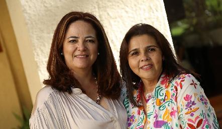 Paulina Gordoa y Paty Valadés.