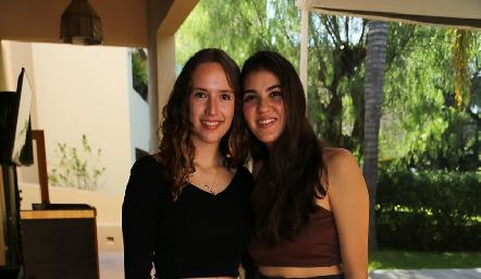María Martin Alba y Natalia Gómez.