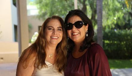 Alba Altamirano y Cynthia Sánchez.
