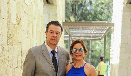 Javier Mercado y Melissa Crespo.