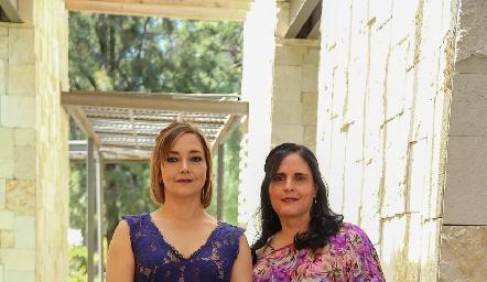 Marta Rangel y Maite Ascanio.