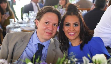 Mariano Niño y Alejandra Puente.