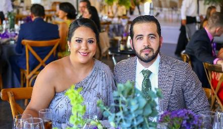 Araceli Solís y Ramón Recio.
