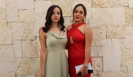 Denisse y Ana López.