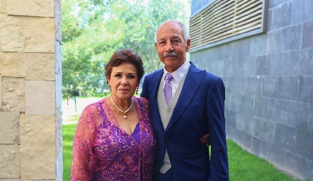 Tere y Miguel Fernández.