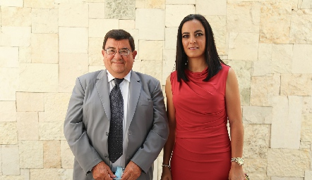 Benito González y Meli Córdova.