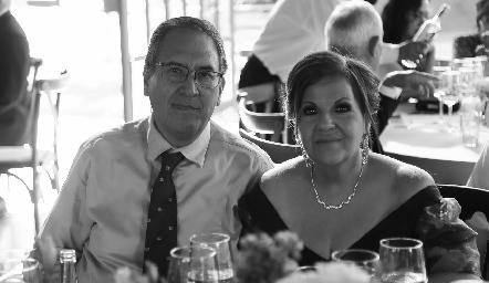 Alberto y Marce Herrera.