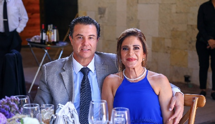 Javier Mercado y Melisa Crespo.