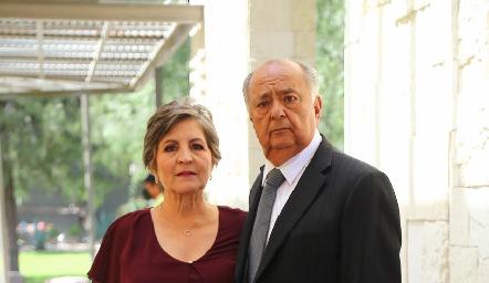 Rosy Padilla y Miguel Ángel Herrera.