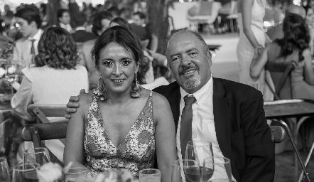 Odile Sánchez y Eduardo González.