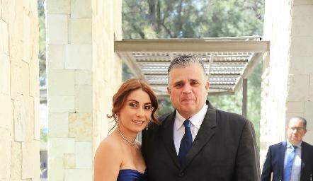 Sonia Yáñez y Alfonso Téllez.
