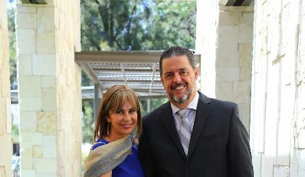 Marissa Contreras y Jean Luca.