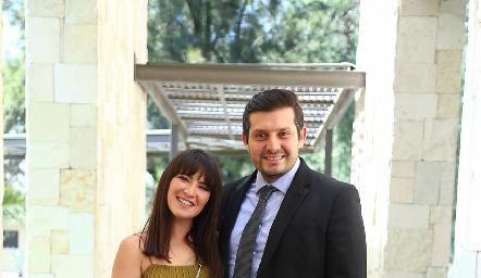 Paula de la Rosa y Gerardo Jiménez.
