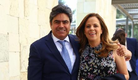 Paco Leos y Paty Fernández.