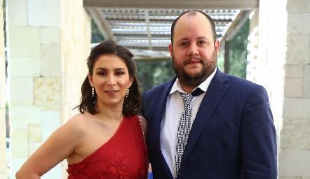 María José Robledo y Christian Suárez .