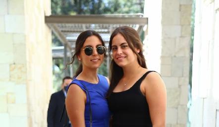 María José González y Ana Benavente.