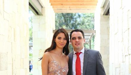 Paola Ruiz y Santiago Rodríguez.