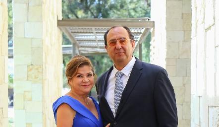 Ivonne Díez y Darío Herrera.