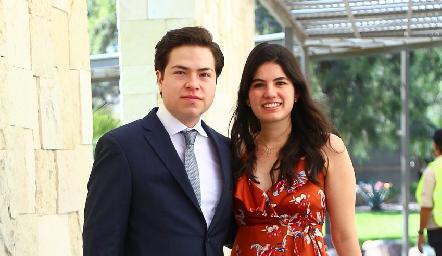 Marco Vázquez y Paty Rojas.