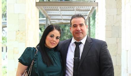 Mónica Macías y Pablo Camargo.