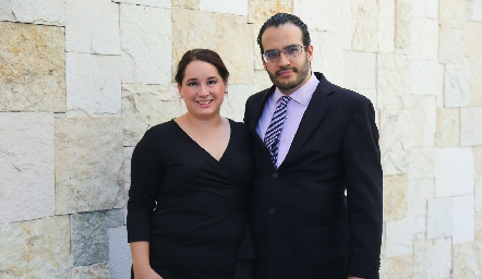 Adriana y Arturo.