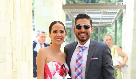 Andrea Herrera y Felipe Zúñiga.